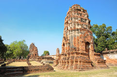 Tower in Ayutthaya Stock Images