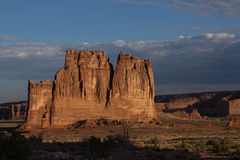 Tower of Babel. In Arches NP Royalty Free Stock Photos