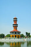 Tower in Bang Pa In Palace Royalty Free Stock Photography