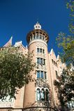 Tower in barcelona Royalty Free Stock Photos