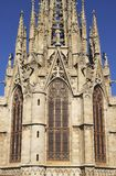 Tower on Barcelona Cathedral. Spain Stock Images