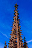 Tower of Basel Cathedral Stock Photos