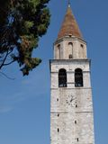 Tower of Basilica Di Aquileia. Italy Royalty Free Stock Photography