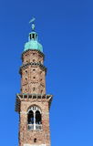 Tower of Basilica Palladian symbol of the city of Vicenza in Ita Stock Photos
