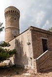Tower on the beach (Ancona) Stock Photo