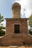 Tower on the beach (Ancona) Stock Photography
