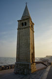 Tower at beach in Caorle Royalty Free Stock Photo