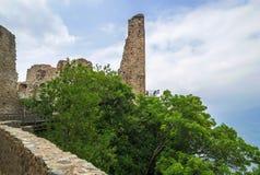 Tower of the Beautiful Alda at Sacra di San Michele ,Turin Stock Image