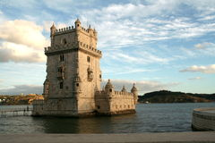 Tower of Belem. In Lisbon, Portugal Royalty Free Stock Images