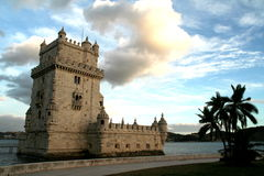 Tower of Belem. In Lisbon, Portugal Stock Photo