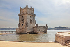 The Tower of Belem Royalty Free Stock Photography