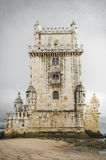 Tower of Belem. Famous landmark in Lisbon, Portugal. Stock Photo