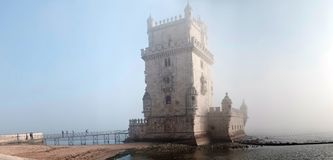 Tower of Belem, Lisbon Royalty Free Stock Images