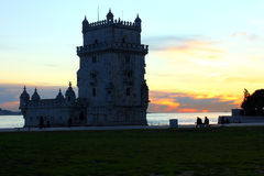 Tower of Belem, Lisbon, Portugal Royalty Free Stock Images
