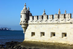 Tower of Belem, Lisbon, Portugal Royalty Free Stock Photo