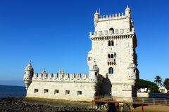 Tower of Belem, Lisbon, Portugal Royalty Free Stock Photography