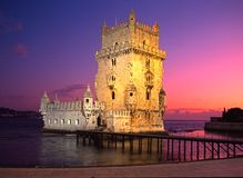 Tower of Belem, Lisbon, Portugal. Royalty Free Stock Photo