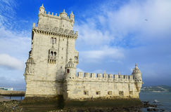 Tower of Belem. Lisbon, Portugal. Royalty Free Stock Image