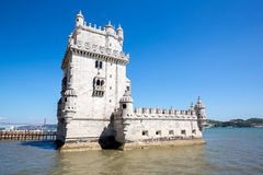 Tower of Belem Lisbon, Portugal Stock Photography