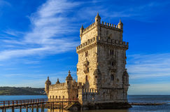 Tower of Belem, Lisbon, Portugal. Stock Photography