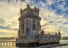 Tower of Belem, Lisbon, Portugal. Royalty Free Stock Photos