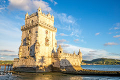 Tower of Belem Lisbon Stock Images