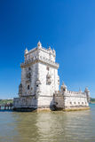 Tower of Belem Lisbon Stock Photography