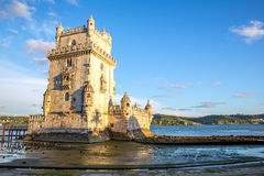 Tower of Belem Lisbon Stock Image