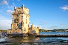 Tower of Belem Lisbon Stock Image