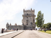 The Tower of Belem Stock Photography
