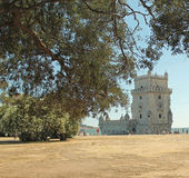 Tower of Belem - Saint Vincent Tower  Royalty Free Stock Photo