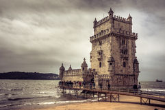 Tower of Belem Royalty Free Stock Photos