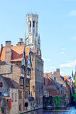 Tower Belfort in Bruges Royalty Free Stock Images