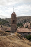 Tower bell of Albarracin Stock Photography