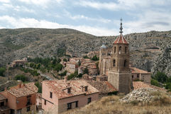 Tower bell of Albarracin Royalty Free Stock Photo