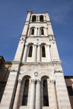 Tower bell of the cathedral of ferrara Royalty Free Stock Photography