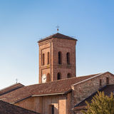 Tower bell of catholic church Stock Photo