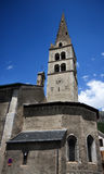 Tower bell of church in Grenoble. France royalty free stock photos