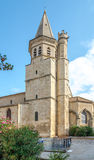 Tower bell of Madeleine church in Beziers - France Royalty Free Stock Photo