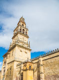 Tower bell of Mosque - Cordoba stock photography