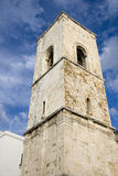 Tower bell in polignano a mare Royalty Free Stock Image