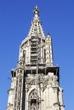 The tower of The Bern Muenster Stock Photo