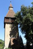 The tower of Biertan Royalty Free Stock Photos