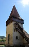 Tower of Biertan Royalty Free Stock Photography