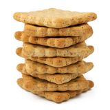 Tower of biscuits Stock Photography