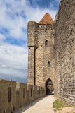 Tower of the Bishop and its archway Stock Image