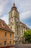 Tower of the black church in Brasov Royalty Free Stock Photo
