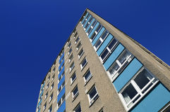 Tower Block from the 1970's Royalty Free Stock Photo