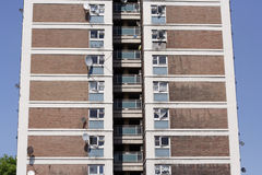 Tower block Royalty Free Stock Images