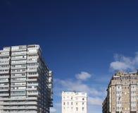 Tower block modern classic office flat Stock Photos